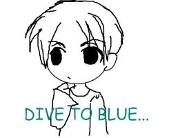 dive to blue? by lepetitsadako