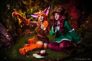Gnar and Lulu - LEAGUE OF LEGENDS [9] by Akaomy