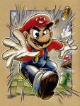 Super Mario by derrickfish