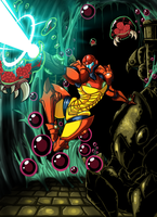 Metroid by Lordstevie