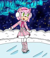 winter amy by ninpeachlover