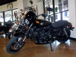 2015 Harley-Davidson Street 500 left side by Caveman1a