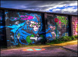 Dead Monkey HDR by genouvalium