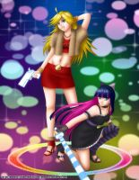 Fanart - Panty and Stocking by Emoon18