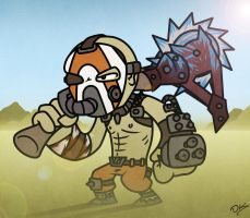 Borderlands Krieg (pyro style) by IStabHotLava