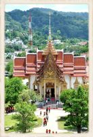 Temple of Thailand by cemito