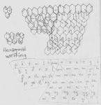 Hexagonal script by juhhmi