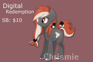Digital Redemption auction [CLOSED] by Je-lly