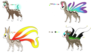 Free Finnedyr Adopts ::CLOSED:: by SpookyBjorn