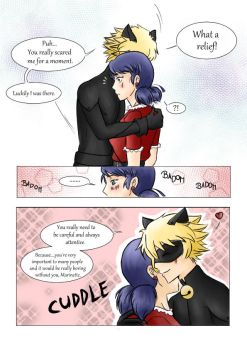 ML Comic: Watch your step (Marichat) Page 4 by 19Gioia93
