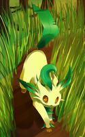 Leafeon by LtNom