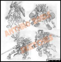 Anthro Zoids by alphaleo14