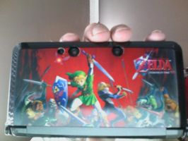 OoT 3DS Face plate by elfofcourage
