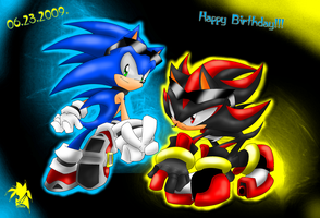 Happy B-Day Sonic by Fly-Sky-High