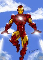 Iron Man by CThompsonArt