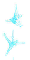 Aerial Dance Stock Reference by PluviaLFox