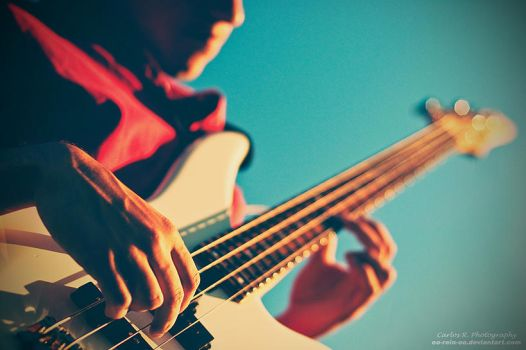 While My Bass Gently Weeps by oO-Rein-Oo