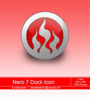 Nero 7 Dock Icon by Victomized