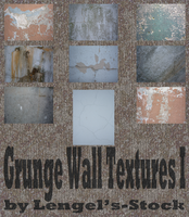 Grunge Wall Texture Pack I by Lengels-Stock