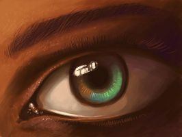 Speed Paint of Eye by fear-sAs