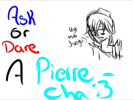 .::Ask or Dare.-Pierre::. by ReveVen