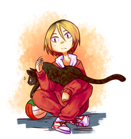 Kozume Kenma by Pidoodle