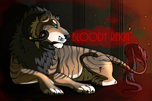 Bloody Reign Comic Cover by starry-knight16