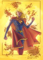Supergirl - Niggaz4Life colors by SpiderGuile