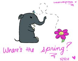 What happened to Spring??? by imadrinkyersoda