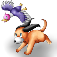 Duck Hunt by Twin-Cats