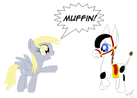 Muffin The Mule by loomx