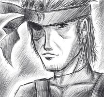 Solid Snake: MGS 2 by ZephX