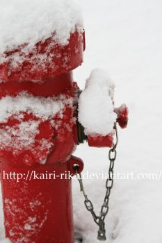 RED and SNOW by Kairi-Rika