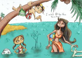 Psychonauts' Summer Vacation by Paw07