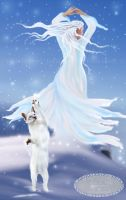 Queen of Snowflakes by Tricia-Danby