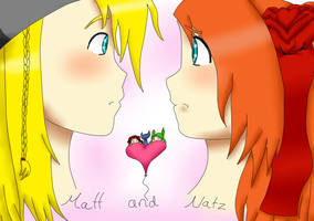 matt and natz by kittimitti