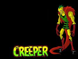 The Creeper Wallpaper by honestgeorge