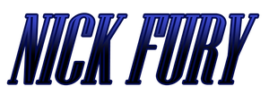 Nick Fury logo by Urbinator17