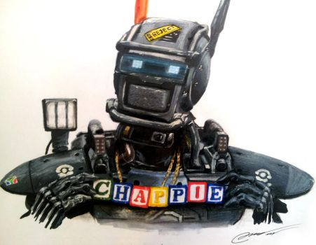 Chappie by TheArtFeel
