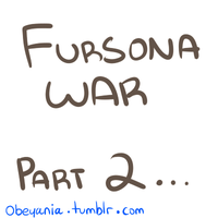 Fursona War Part 2 by Nayobe