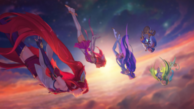 Star Guardians (Poppy Focus) by W0LVEMAN