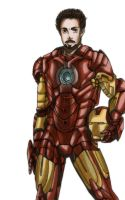 :iron man: by maoren