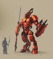 Red Guardian by polarlex