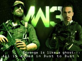 MW3 Price and Makarov by Ladyheal