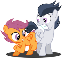 We are the best Pegasi Butt Buddies ever! by DreamCasterPegasus