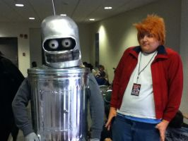 Ohayocon 2012: Fry and Bender by BigAl2k6