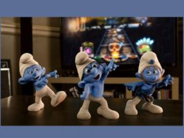 Dancing Smurfs by MyFanFictionPicture
