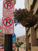 No Parking by en-visioned