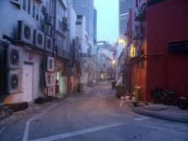 The Back Alley by ElevationLowJJ