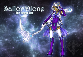 Sailor Dione: The Bright Star by LadyDuskfall